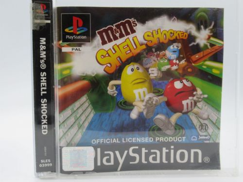 M&Ms Shell Shocked (PlayStation)